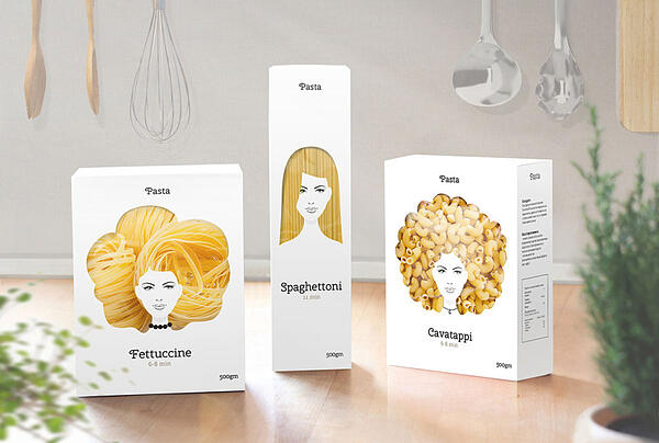 Clever-packaging-design-makes-pasta-look-like-hair1-830x559