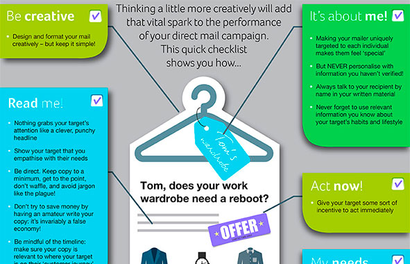 Creative Direct Mail [Infographic]